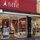 Shoes fitfit Jiyugaoka shop which is kind to hallux valgus