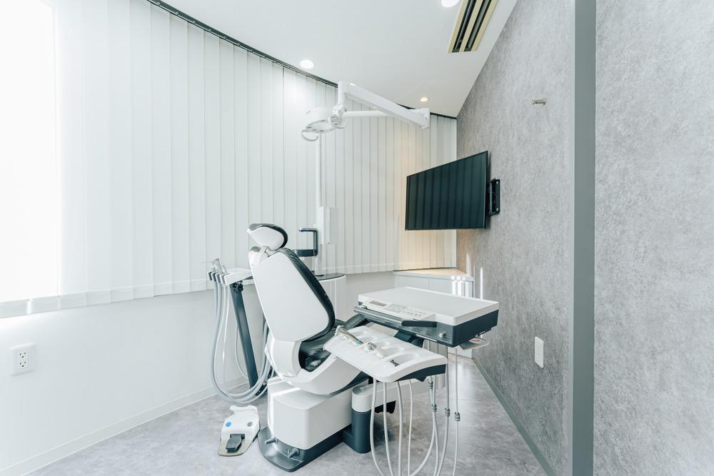 自由が丘の歯医者三好歯科自由が丘増設した個室診療室